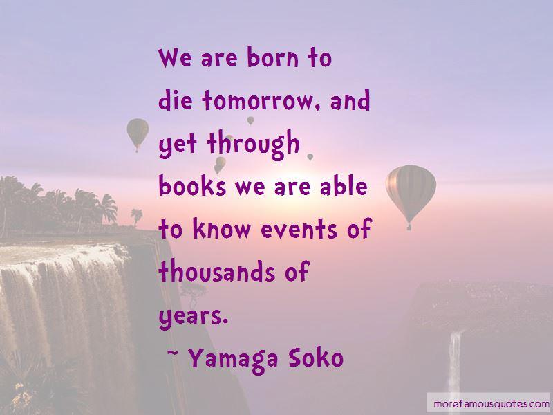 Yamaga Soko Quotes