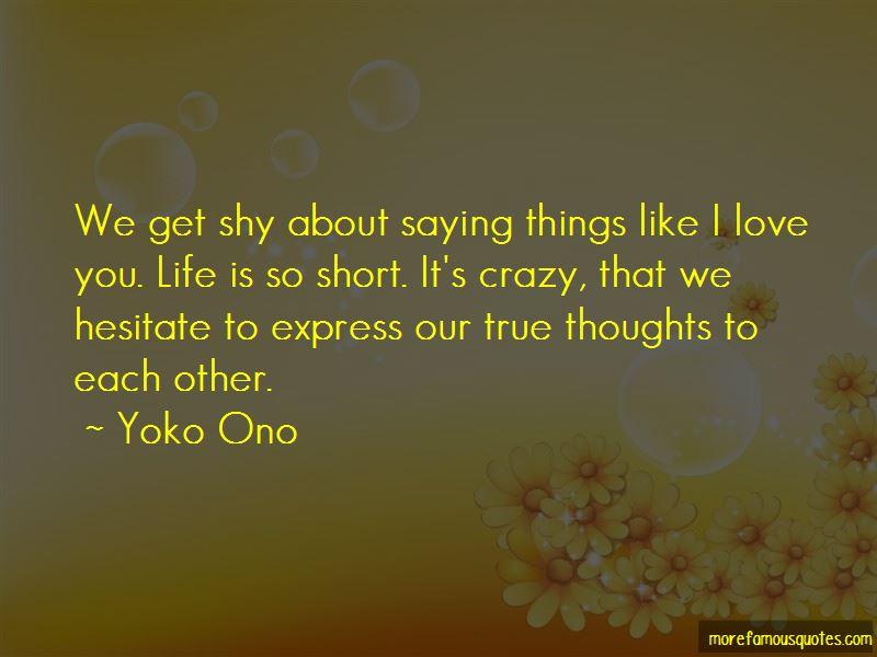 Yoko Ono Quotes Pictures 2