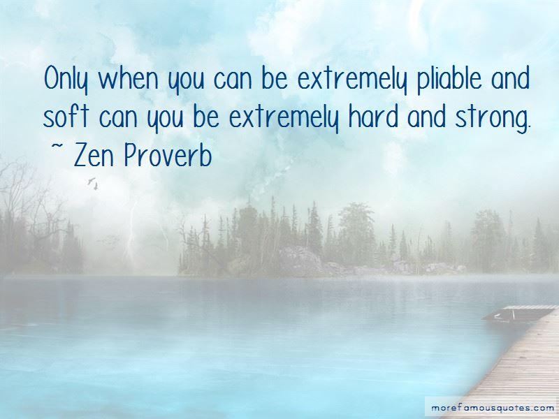 Zen Proverb Quotes