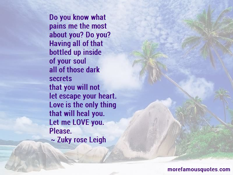 Zuky Rose Leigh Quotes Pictures 2