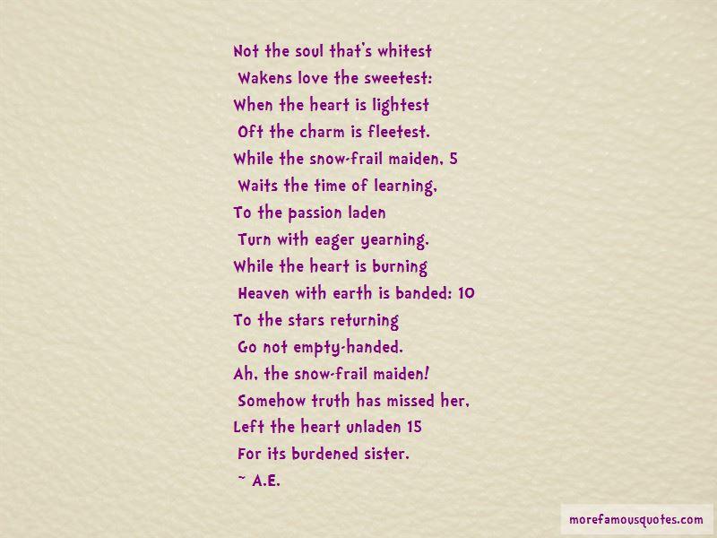 A.E. Quotes