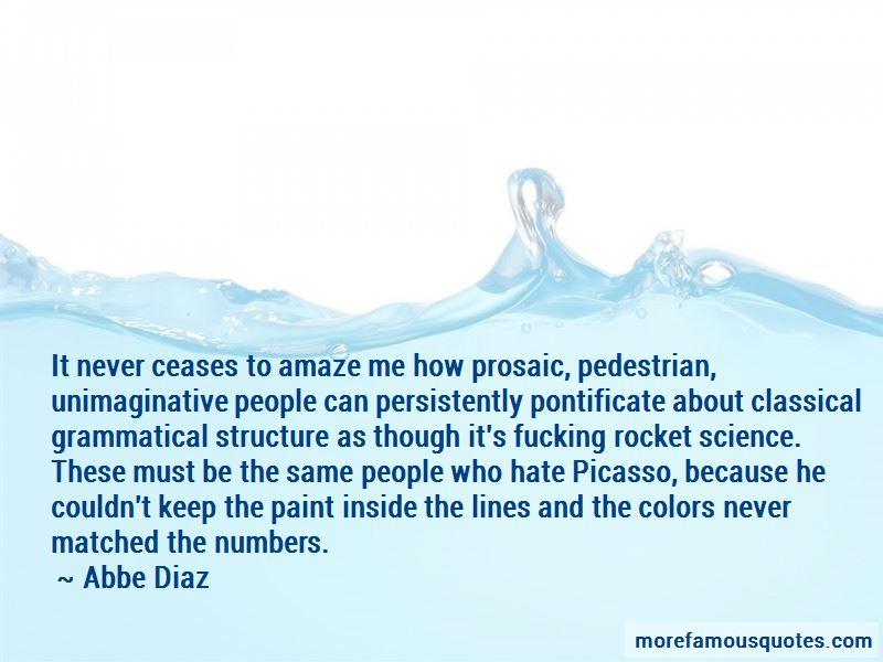 Abbe Diaz Quotes