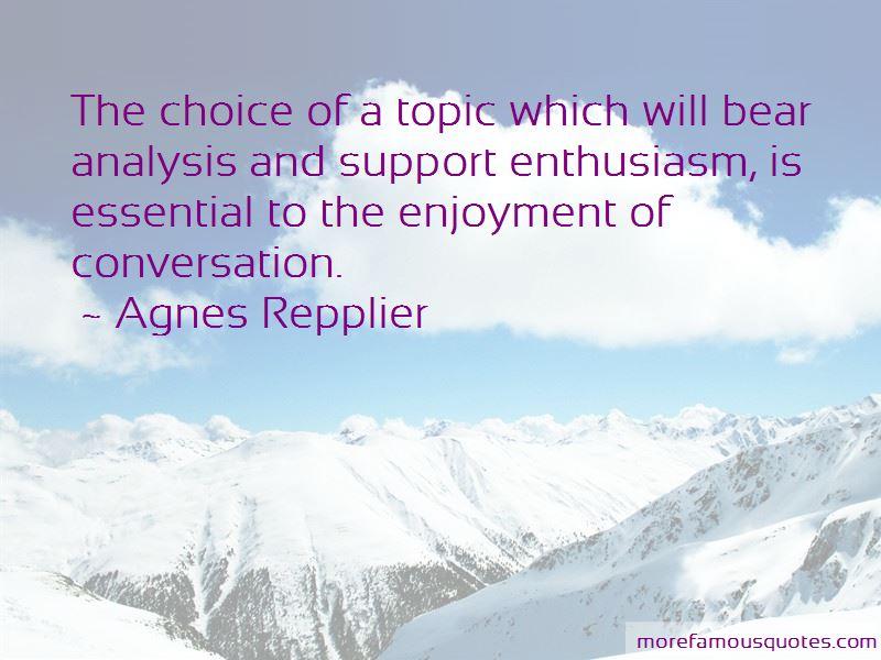 Agnes Repplier Quotes Pictures 4