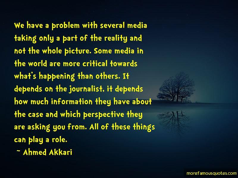 Ahmed Akkari Quotes