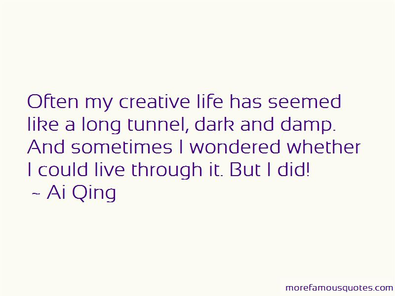 Ai Qing Quotes Pictures 2