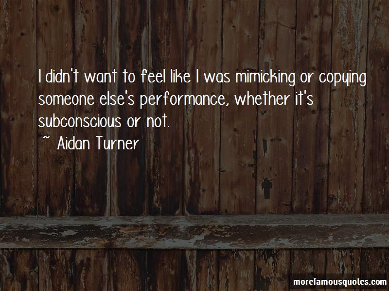 Aidan Turner Quotes Pictures 2