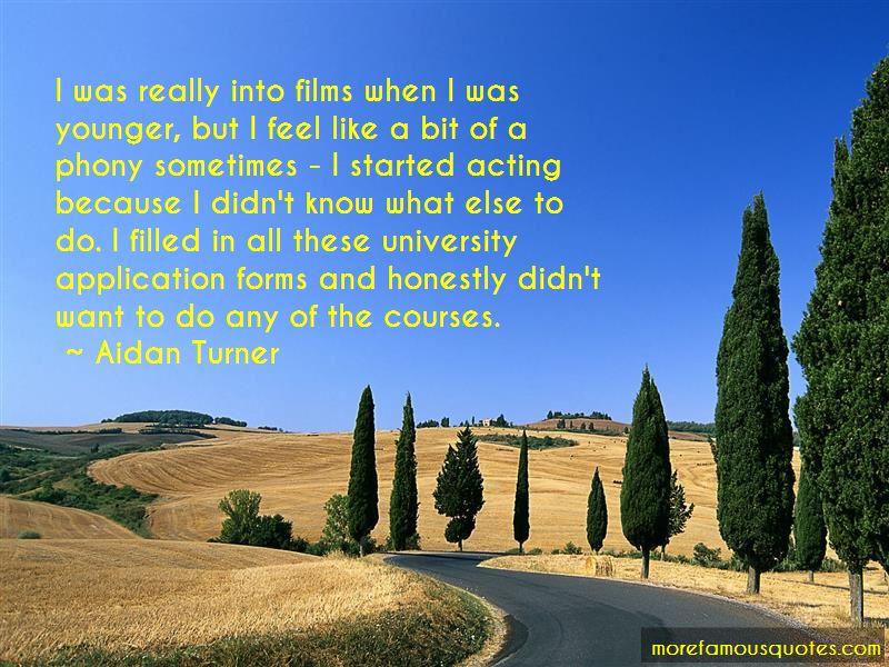 Aidan Turner Quotes Pictures 4