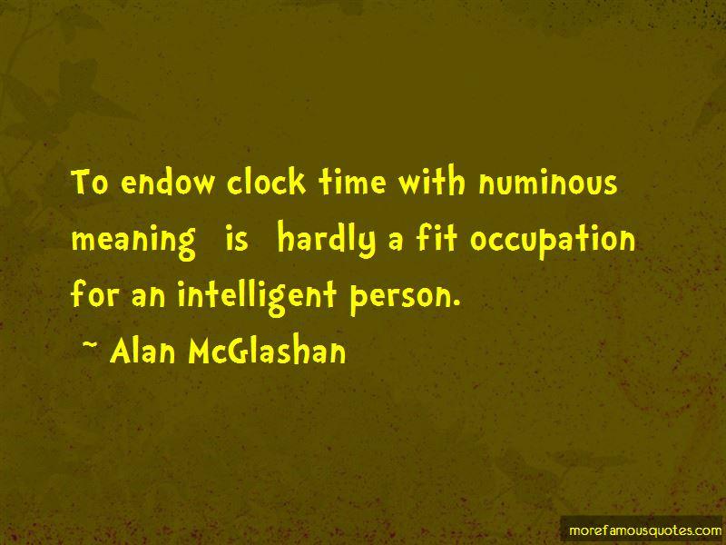 Alan McGlashan Quotes