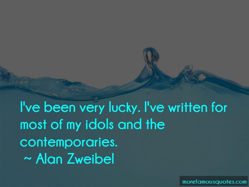 Alan Zweibel Quotes Pictures 2