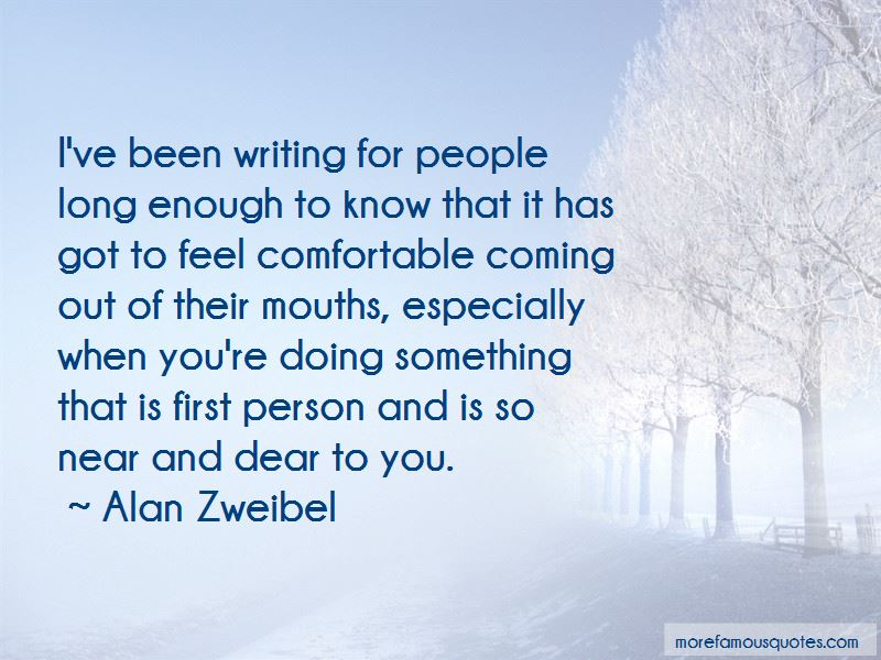 Alan Zweibel Quotes Pictures 4