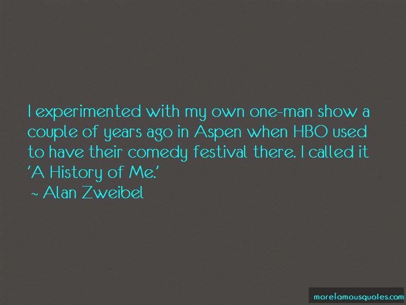 Alan Zweibel Quotes