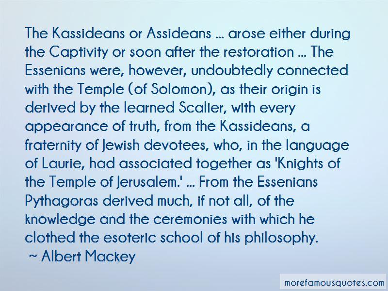 Albert Mackey Quotes