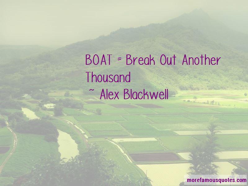 Alex Blackwell Quotes