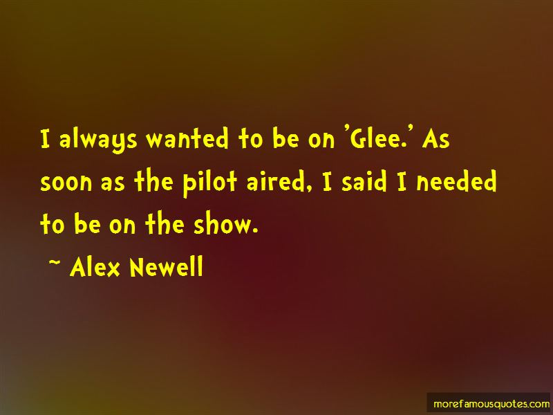 Alex Newell Quotes Pictures 2