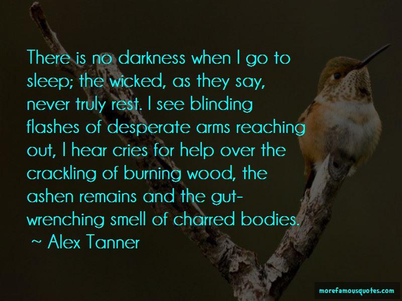 Alex Tanner Quotes