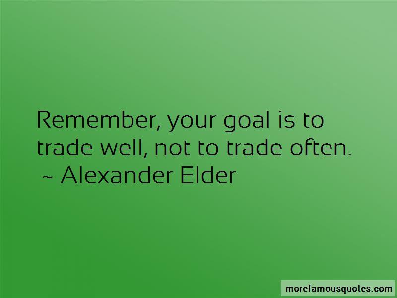Alexander Elder Quotes Pictures 2