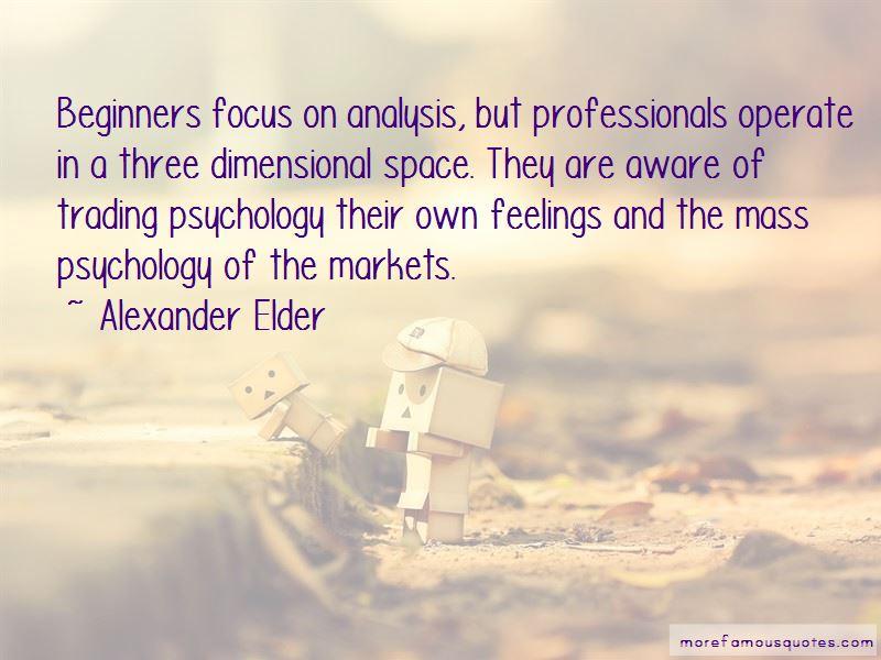Alexander Elder Quotes