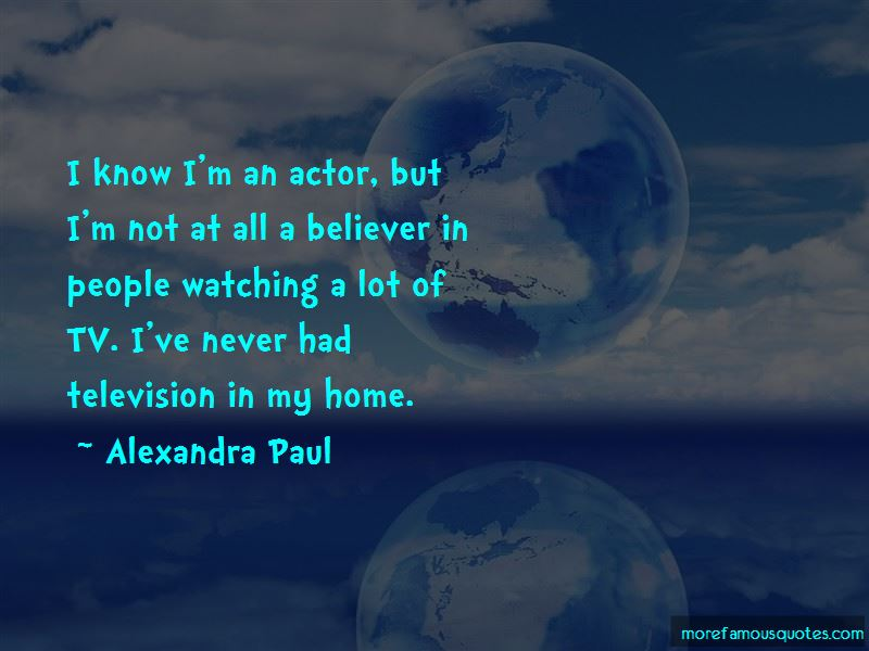 Alexandra Paul Quotes Pictures 2