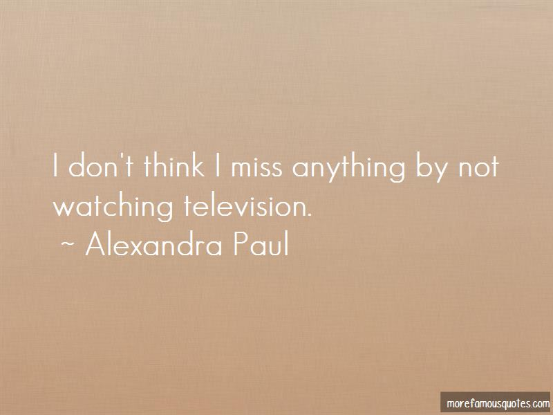 Alexandra Paul Quotes Pictures 3
