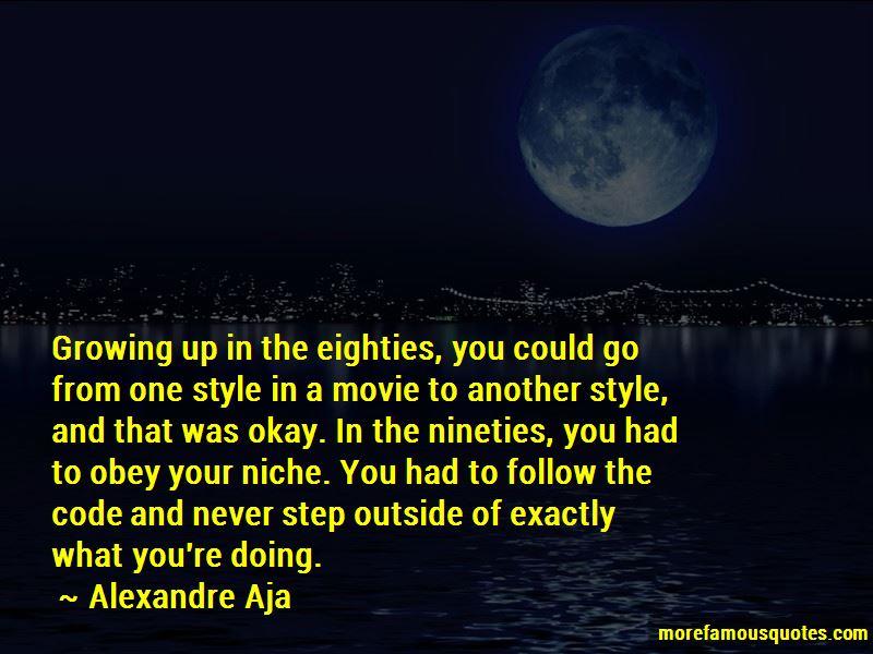 Alexandre Aja Quotes