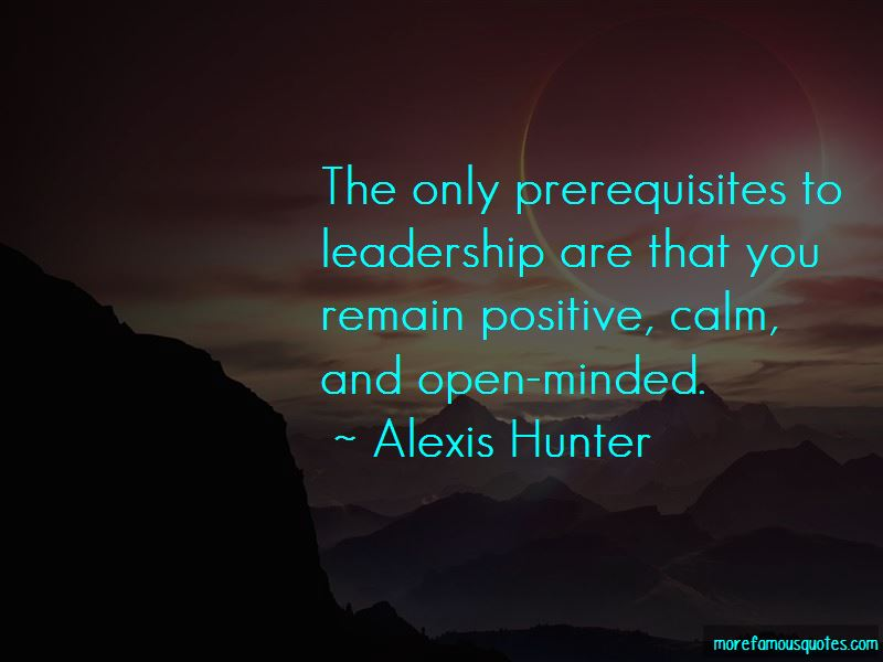 Alexis Hunter Quotes