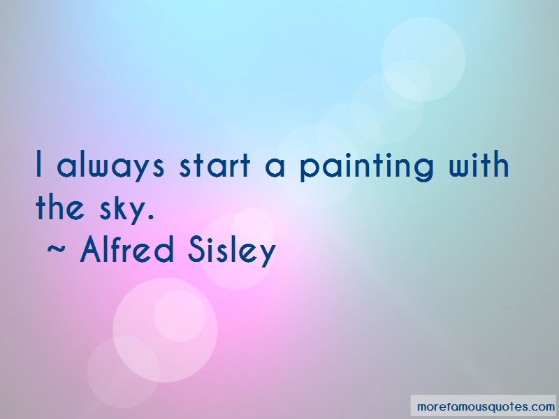 Alfred Sisley Quotes Pictures 2