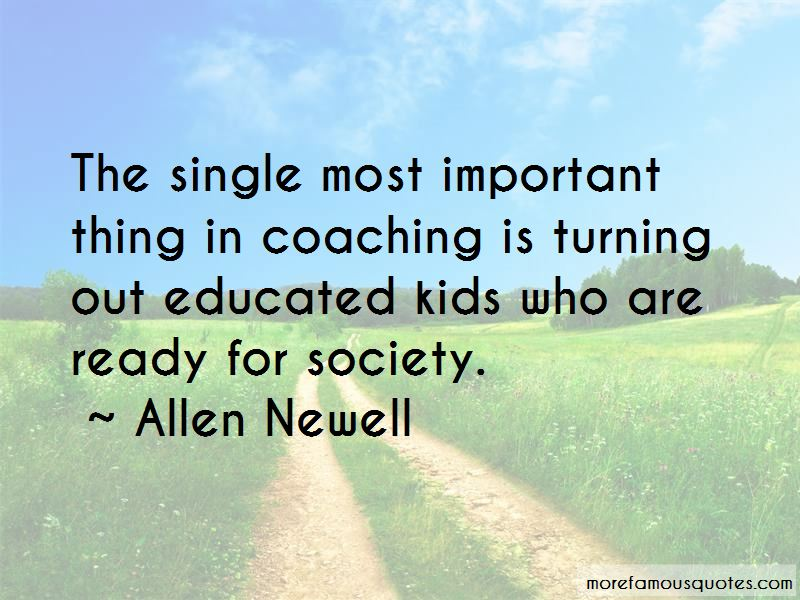 Allen Newell Quotes