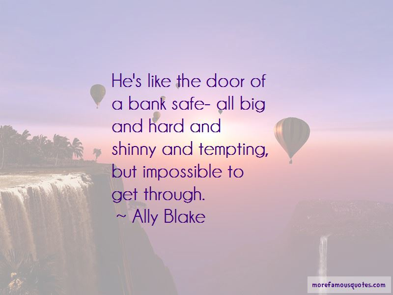 Ally Blake Quotes Pictures 4