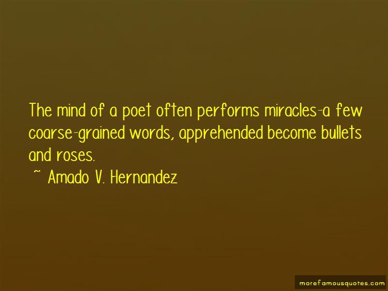 Amado V. Hernandez Quotes