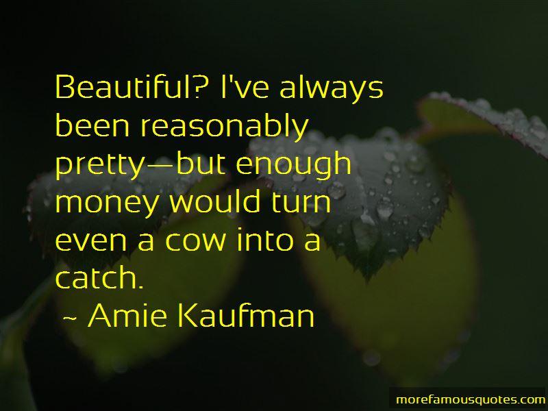 Amie Kaufman Quotes