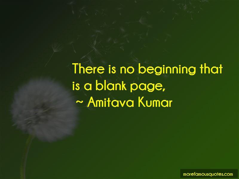 Amitava Kumar Quotes