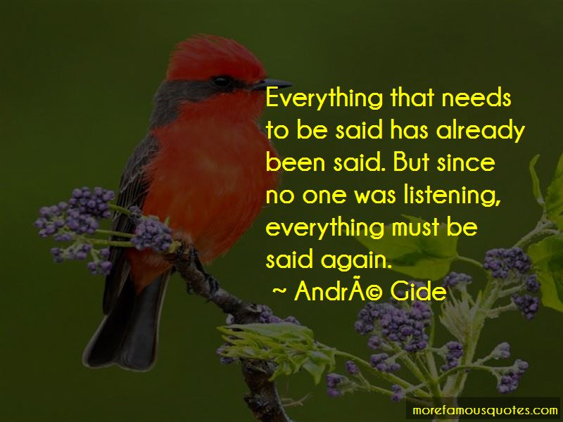 Andre-Gide Quotes