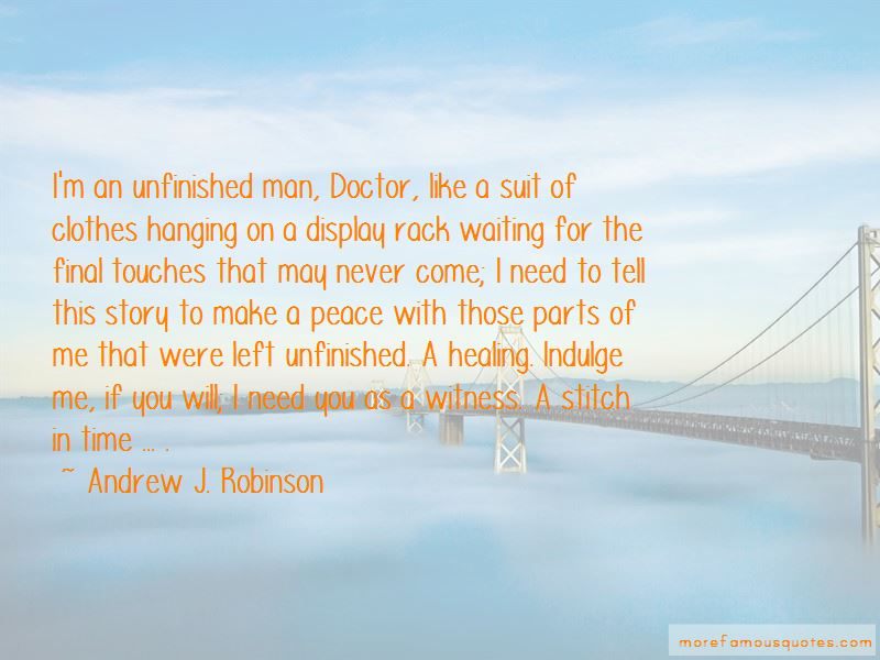 Andrew J. Robinson Quotes