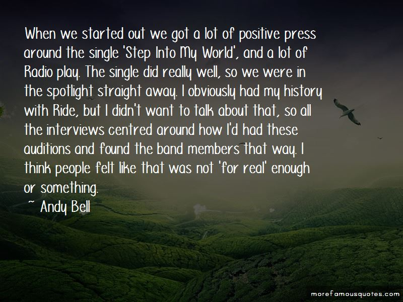 Andy Bell Quotes Pictures 2