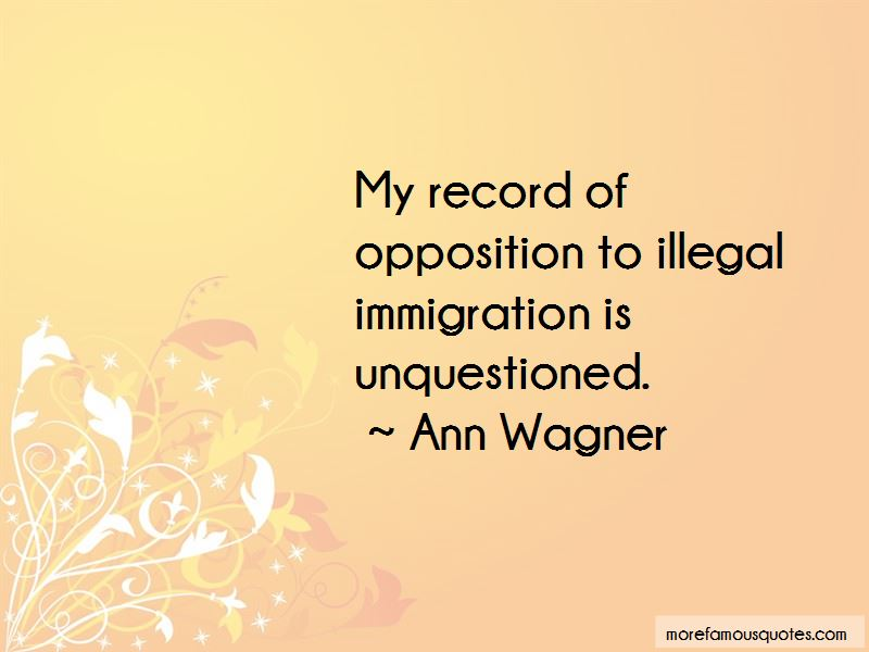 Ann Wagner Quotes Pictures 3