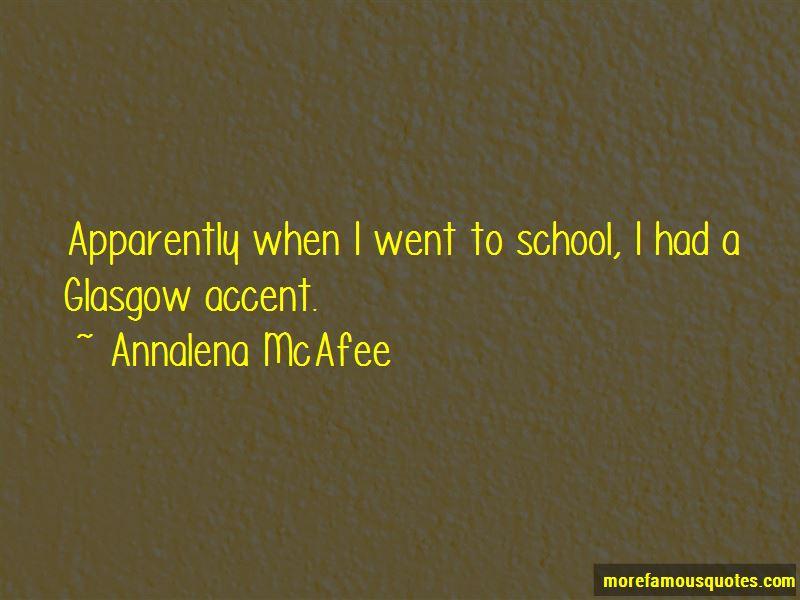 Annalena McAfee Quotes