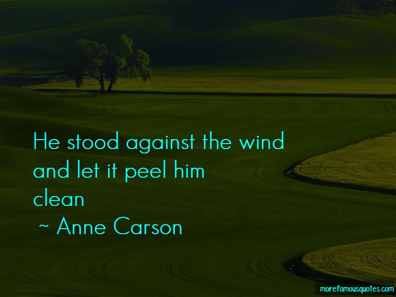 Anne Carson Quotes Pictures 2