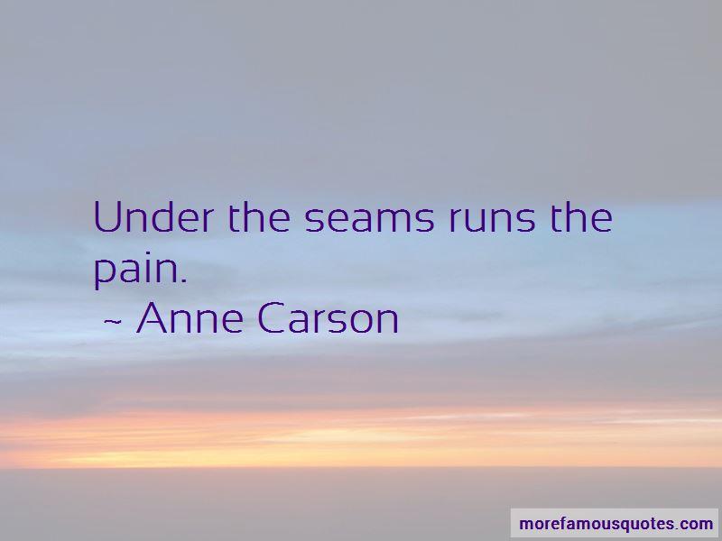 Anne Carson Quotes