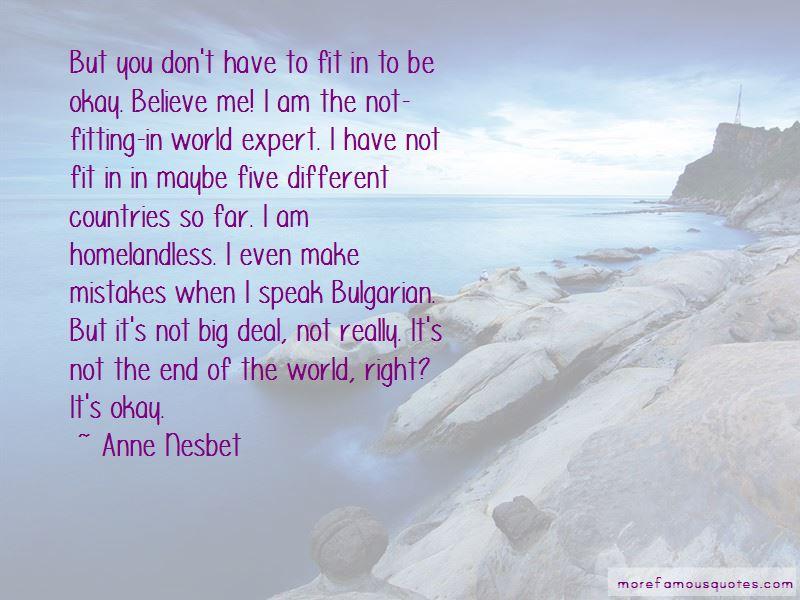 Anne Nesbet Quotes