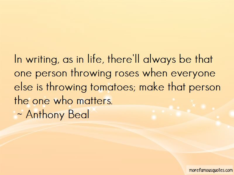 Anthony Beal Quotes