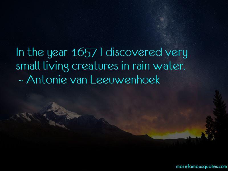 Antonie Van Leeuwenhoek Quotes Pictures 3