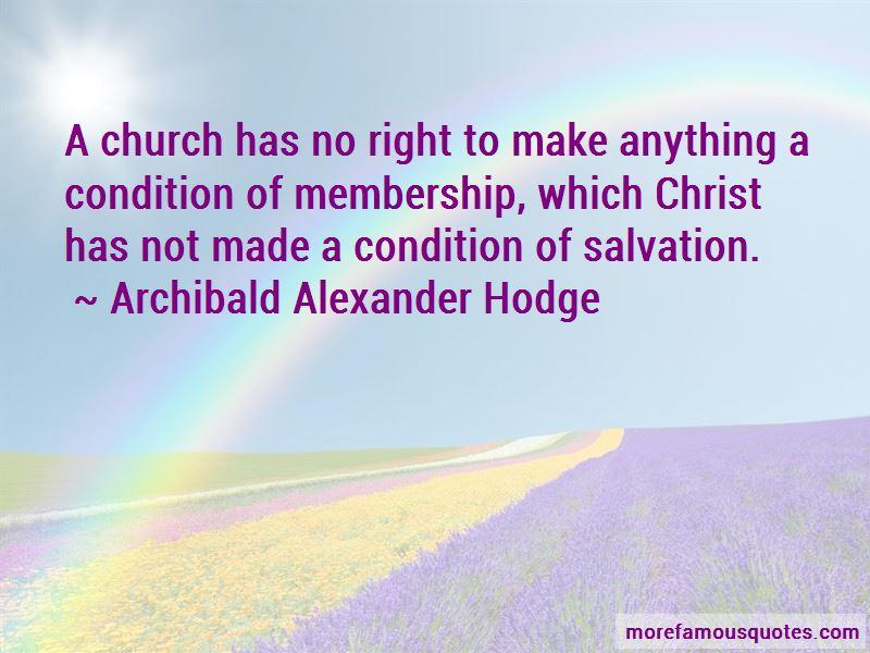 Archibald Alexander Hodge Quotes Pictures 2
