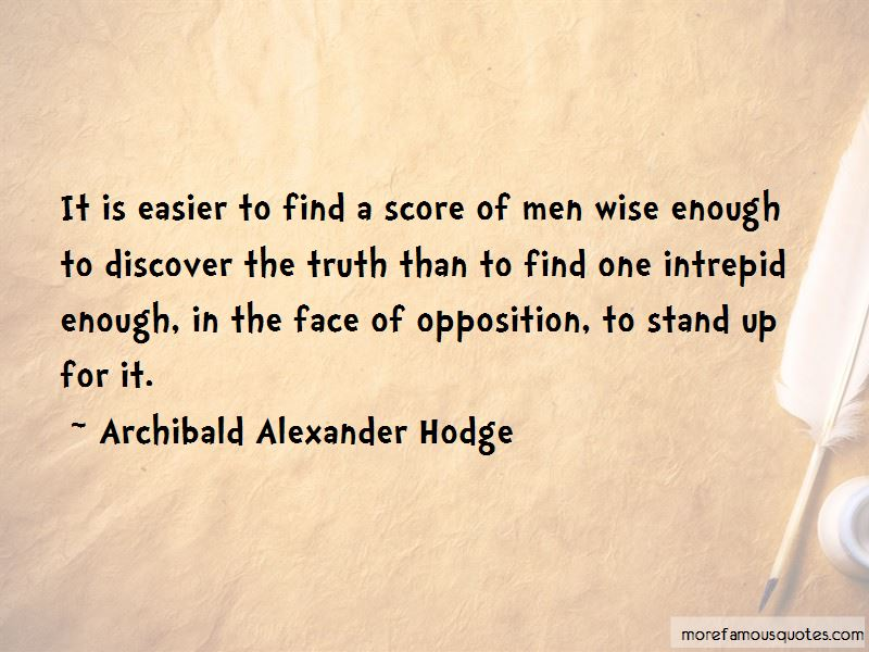 Archibald Alexander Hodge Quotes Pictures 4