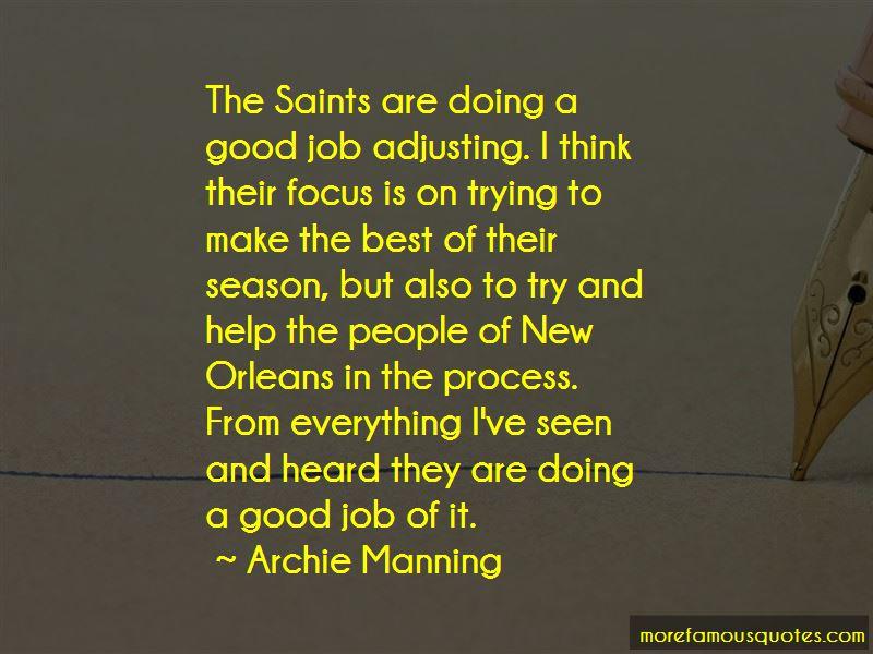 Archie Manning Quotes