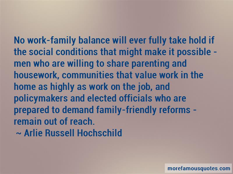 Arlie Russell Hochschild Quotes Pictures 2