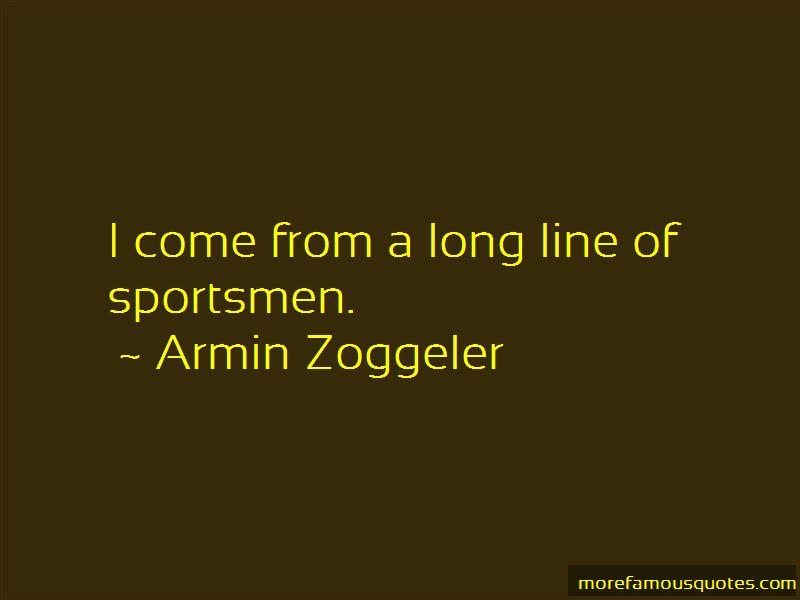 Armin Zoggeler Quotes