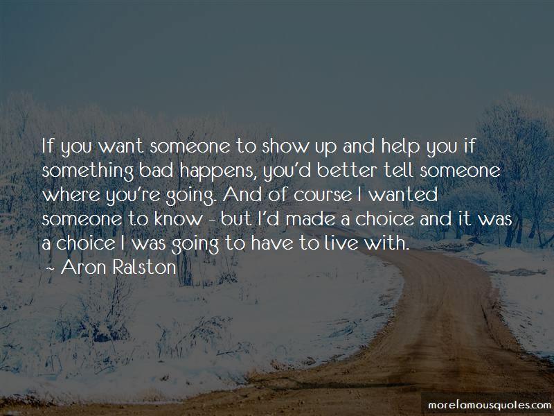 Aron Ralston Quotes Pictures 3