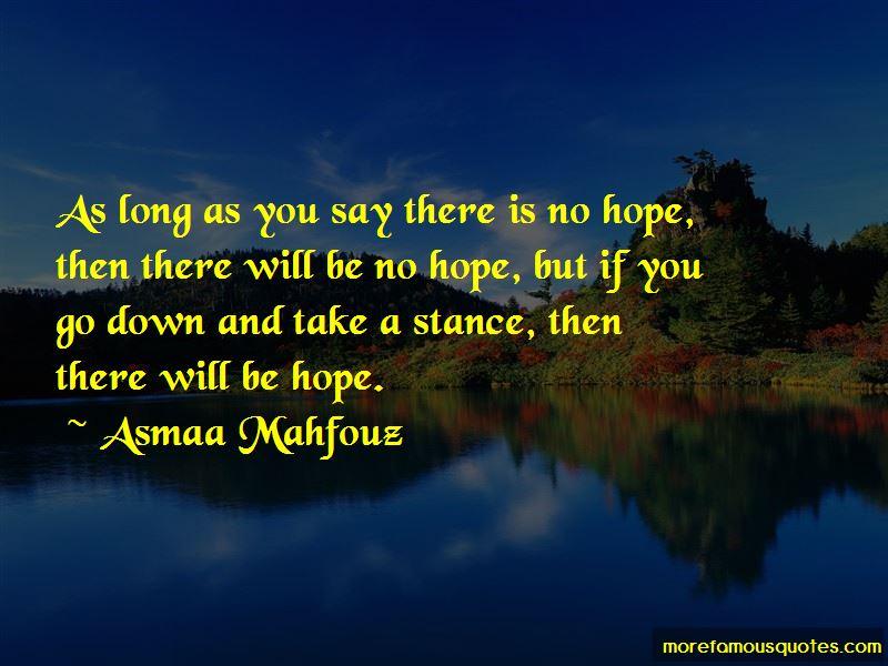Asmaa Mahfouz Quotes