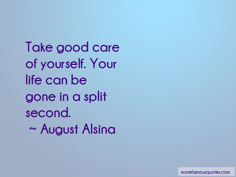 August Alsina Quotes