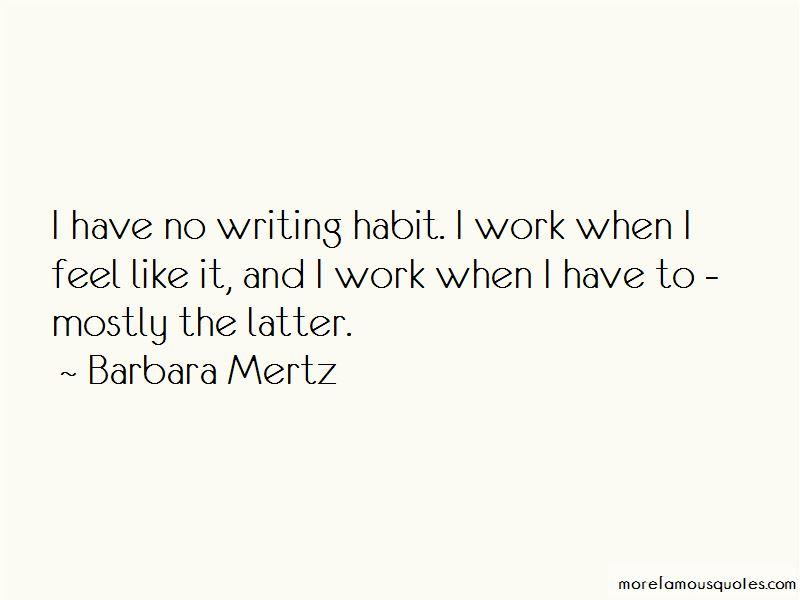 Barbara Mertz Quotes Pictures 4